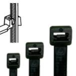 Черные стяжки  для внутреннего применения (TK...BK), стр.: 3