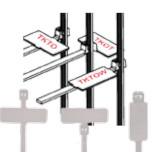 Cтяжки для внутреннего применения с табличкой (TKOT,TKTO)