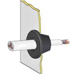 Вводы кабельные резиновые