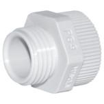 Переходники пластиковые для вводов кабельных, резьба PG/M (DA.../M)