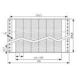 Маркировочная бумага для матричных принтеров в листах (DMIAR)