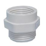 Переходники пластиковые для вводов кабельных, резьба PG (DR)