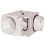 Вводы кабельные угловые, пластиковые, изоляционные, IP68, резьба PG (KD)