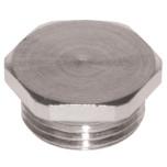 Заглушки латунные для вводов кабельных, резьба M (MDZ...M)