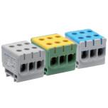 Соединители для трёх проводов на дин рейку (ZJUN-3x)