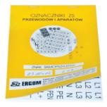Знаки клеящиеся, ПВХ, для обозначения аппаратов, зажимов (ZS...)