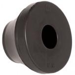 PDE 29 BK - Сальник (ввод кабельный) резиновый, IP67 [черный] упак {25шт}