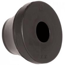 PDE 40M BK - Сальник (ввод кабельный) резиновый, IP67 [черный] упак {25шт}