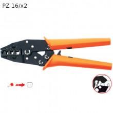 PZ16/x2 - Инструмент зажимной ручной для кабельных наконечников