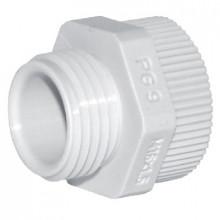 DA 11/16M - Переходник пластиковый для сальников (вводов кабельных), резьба PG/M упак {10шт}