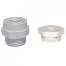 DR 11/9 - Переходник пластиковый для сальников (вводов кабельных), резьба PG упак {10шт}