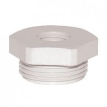 DR 16M/12M - Переходник пластиковый для сальников (вводов кабельных), резьба M упак {10шт}