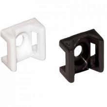 E3 - Элемент крепежный пластиковый для бандажей (стяжек) упак {100шт}