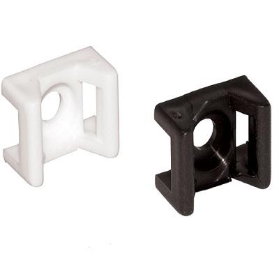 E302 - Элемент крепежный пластиковый для бандажей (стяжек) упак {100шт}