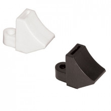 E4 - Элемент крепежный пластиковый для бандажей (стяжек) упак {100шт}