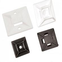E9 - Элемент крепежный пластиковый для бандажей (стяжек) упак {100шт}