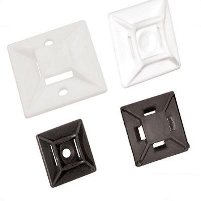 E93 V0 - Элемент крепежный пластиковый для бандажей (стяжек) упак {100шт}