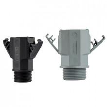 FD 7 BK - Сальник (ввод кабельный) изоляционый, пластиковый, IP66, для быстрой сборки и разборки, резьба PG [черный] упак {10шт}