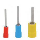 KII 95-23,5 - Наконечник кабельный медный, лужёный, игольчатый, с изоляцией упак {100шт}