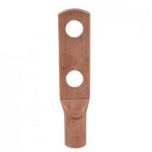 KM 625/2x20 - Наконечник кабельный трубчатый, медный, кольцевой, с 2-мя отверстиями шт