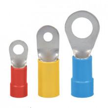 KOI 0,5/2 - Наконечник кольцевой изолированный,  0,1 ÷ 0,5 [мм²], м2, желтый, упак {100шт}