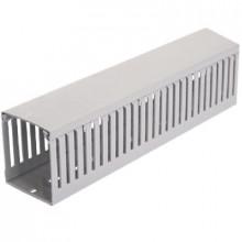 KOPD-HF 80x40/2 - Канал кабельный мелко перфорированный, безгалогенный {2 метра} шт