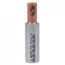 LMAN 120/120 - Наконечник кабельный трубчатый, алюминиево-медный, соединительный упак {10шт}