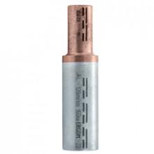 LMANS 95/50 - Наконечник кабельный трубчатый, алюминиево-медный, соединительный, для секторных жил упак {10шт}