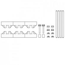 M-1/10T - Модуль шин монтажных, комплект компл