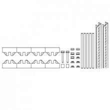 M-1/10TN SET - Модуль шин монтажных, комплект компл