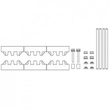 M-2/10T - Модуль шин монтажных, комплект компл