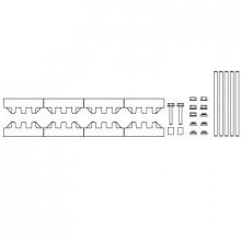 M-2/10TN - Модуль шин монтажных, комплект компл