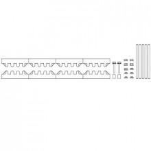 M-3/10TN - Модуль шин монтажных, комплект компл