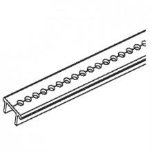 M-Al/2 - Крепление профиль алюминиев. для сборки шин монтажных шт