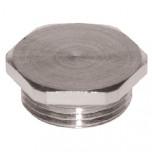 MDZ 21 - Заглушка латунная для сальников (вводов кабельных), резьба PG упак {10шт}