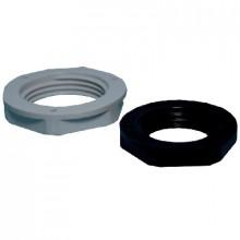 N 11/H - Гайка пластиковая для вводов кабельных, PG11, серая, упак {100шт}
