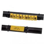 """OV-6/""""W"""" - Обозначители электропроводов для подставок OVP упак {100шт}"""