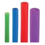 TCR 8/2 GR - Трубка термоусаживаемая тонкостенная [зеленый] {1 метр} упак {10шт}