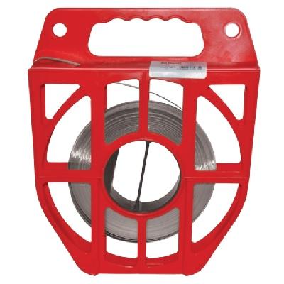 TSR 304/15 - Бандажи (стяжки) стальные, катушка с лентой рул {30.5м}