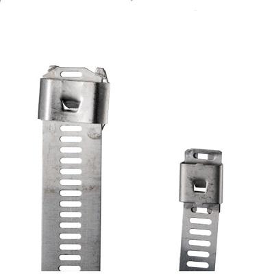 TST 60/7 - Бандаж (стяжка) стальной, самозастёгивающийся упак {100шт}