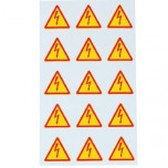 ZS 50 LIGHTNING - Знаки клеящиеся, ПВХ, для обозначения аппаратов, зажимов упак {40шт}