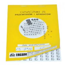 ZS 7x10/C - Знаки клеящиеся, ПВХ, для обозначения аппаратов, зажимов упак {2000шт}