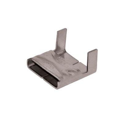 C304/19 - Застёжка стальная для бандажей (стяжек) в катушках упак {100шт}