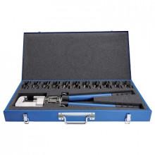 EK18-DIN - Инструмент зажимной ручной для наконечников кабельных, с матрицами набор