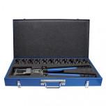 EK19-DIN - Инструмент зажимной ручной для наконечников кабельных, с матрицами набор