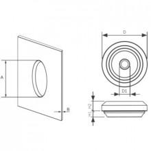PDEN 11 - Сальник (ввод кабельный) резиновый, IP67 упак {50шт}