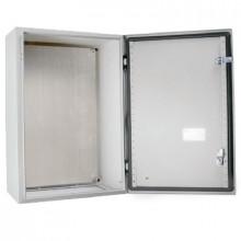 RN 604025 (RAL 7032) - Шкаф однодверный P1 с цельной монтажной панелью шт