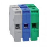 ZUG-G-16 GR - Клеммник резьбовой для проводов 0,5-16мм2 [зеленый] упак {60шт}