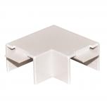 KNKP 20x10 - Угольник плоский для кабельного канала упак {10шт}