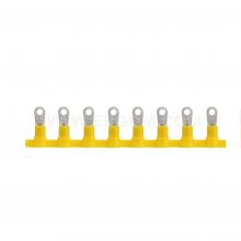 KOTI 1/3 - Наконечник кабельный медный, лужёный, очковый, с изоляцией, в ленте упак {2000шт}